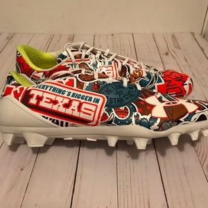 Under Armour Texas Football Cleats